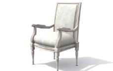 欧式家具椅子0253D模型