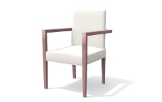 欧式家具椅子0523D模型