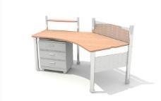 办公家具之办公单元0353D模型