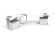 办公家具之办公单元0233D模型