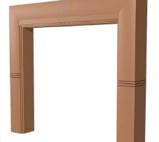 室内装饰建筑部件之门套203D模型