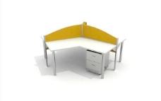 办公家具之办公单元0273D模型