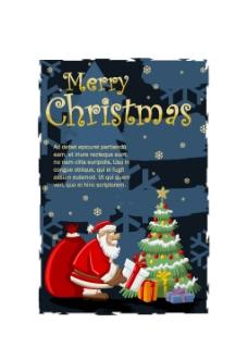 送礼的圣诞老人