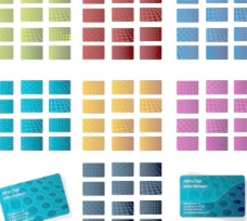 AI格式卡片背景矢量素材