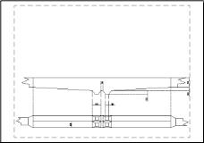 沉砂池简图CAD图纸