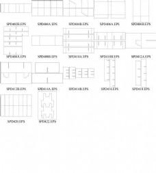 包装盒卡口类型结构图