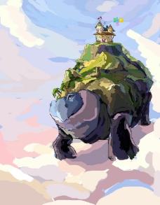 移动城堡图片