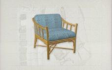酒店风格家具椅子A0153D模型