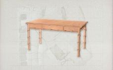 酒店风格家具桌子0093D模型