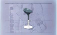 酒店风格家具椅子B0443D模型