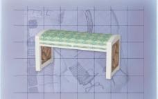 酒店风格家具椅子A0013D模型