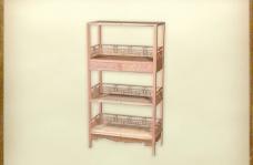 中国古典家具柜子0023D模型