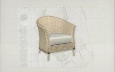 酒店风格家具椅子A0183D模型