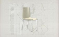 酒店风格家具椅子B0523D模型