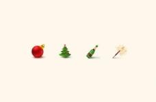 4节日圣诞节png图标设置