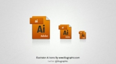 Adobe Illustrator AI图标集PSD