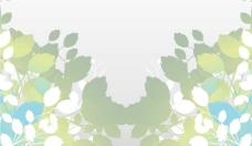 抽象的树叶背景