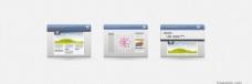 3桌面界面图标集PSD