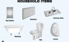 向量的家庭卫生设备