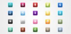 20個不可思議的iPhone圖標集PSD