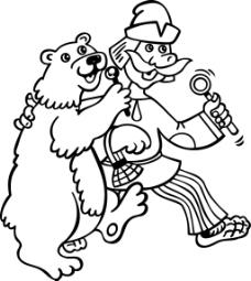 演员与大熊