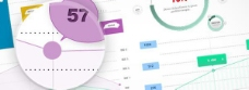 统计数据图表的Web UI元素集