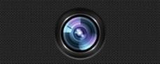 有光澤的高清攝像機鏡頭PSD