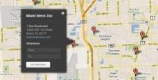 谷歌地图自定义提示覆盖PSD