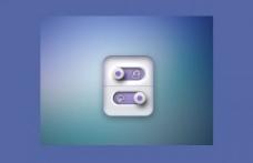 重瓣紫拨动开关接口PSD