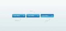 藍色的學習更多的按鈕設置PSD