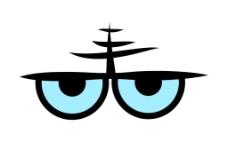 愤怒的眼神