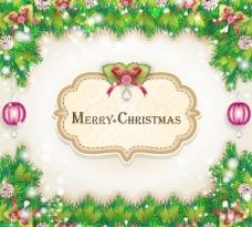 圣誕卡片矢量素材02張海報