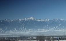 悠悠雪山图片