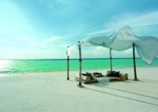 海边度假唯美图片