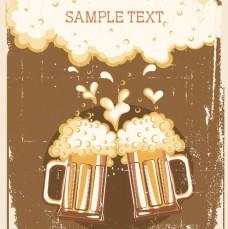 有趣的啤酒矢量