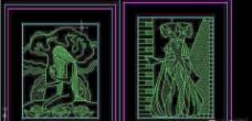 建筑CAD常用千种图块之装饰画
