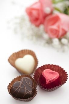 点心 巧克力蛋糕 樱桃图片