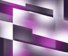 深紫色的背景形状
