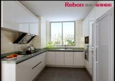 厨房 欧式 实木 效果图片