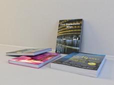 画册书刊3D模型素材