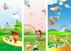 幼儿园 卡通包柱图片