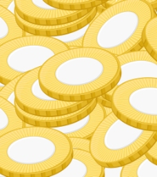 金币图案背景