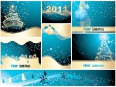 圣诞快乐和新年快乐收藏