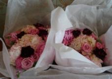 婚礼用花束图片