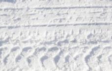 在雪地轮胎纹理图案