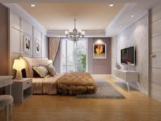 现代风格设计卧室装饰