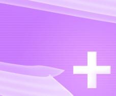 紫简单的医疗背景