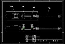 拉力机CAD图纸