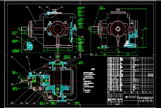 锥齿轮减速器CAD图纸