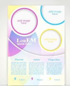 创造性的传单和盖宣传册设计矢量图10